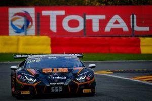 #555 Orange 1 FFF Racing Team Lamborghini Huracan GT3 Evo: Florian Latorre, Baptiste Moulin, Taylor Proto, Hugo Chevalier