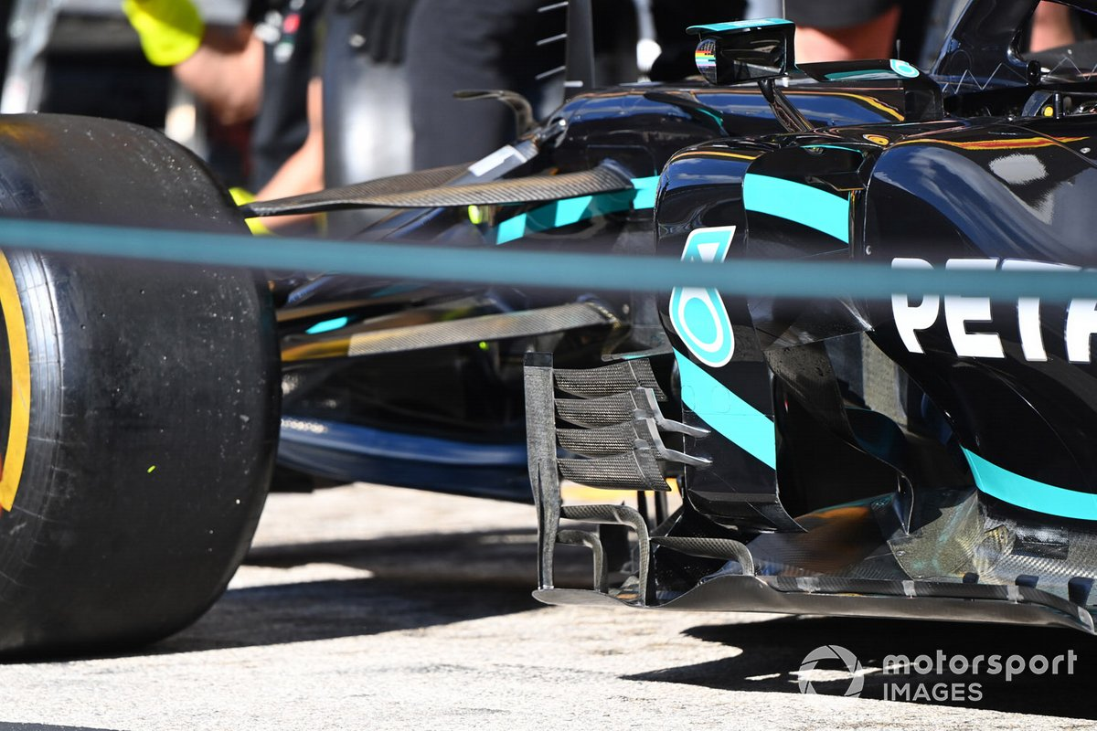 Mercedes technical detail