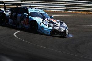 #77 Dempsey-Proton Racing Porsche 911 RSR: Christian Ried, Riccardo Pera, Matt Campbell