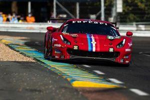#82 Risi Competizione - Ferrari 488 GTE EVO: Olivier Pla, Sébastien Bourdais, Jules Gounon