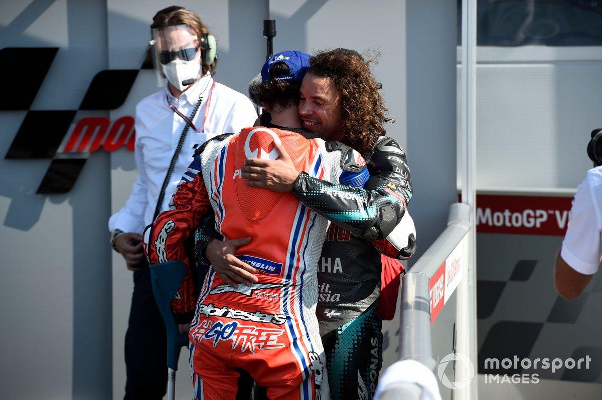 Francesco Bagnaia, Pramac Racing, Franco Morbidelli, Petronas Yamaha SRT