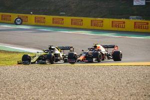Daniel Ricciardo, Renault F1 Team R.S.20, Alex Albon, Red Bull Racing RB16