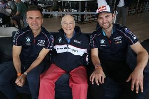 Colin Turkington, Murray Walker and Andrew Jordan