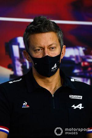 Marcin Budkowski, Executive Director, Alpine F1