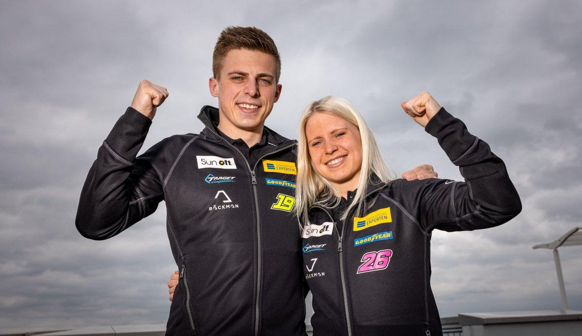 Andreas Backman, Jessica Backman, Target Competition, Hyundai Elantra N TCR