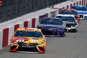 Kyle Busch, Joe Gibbs Racing, Toyota Camry M&M's Red Nose Day