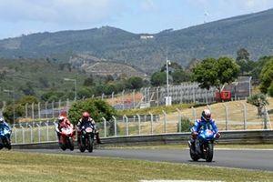 Alex Rins, Team Suzuki MotoGP, Fabio Quartararo, Yamaha Factory Racing, Johann Zarco, Pramac Racing