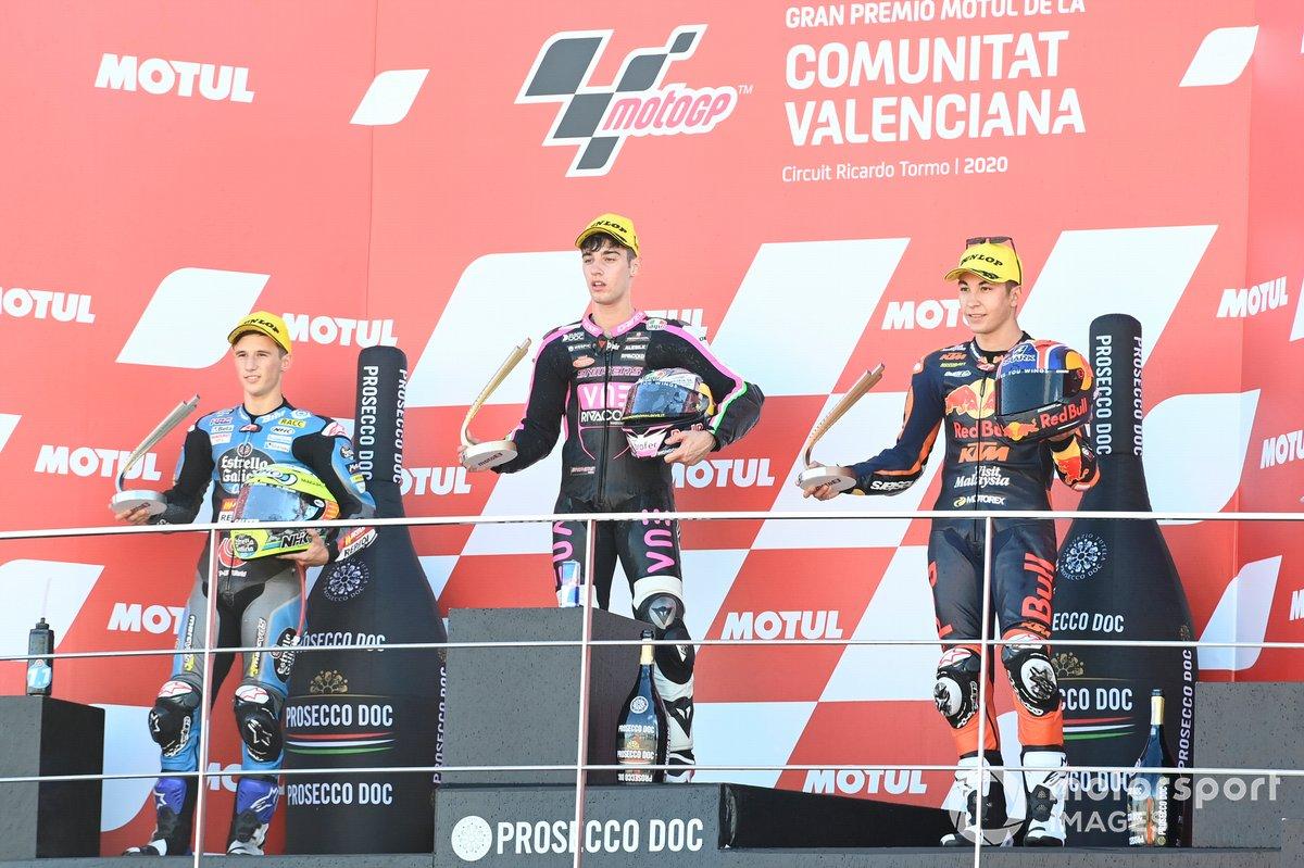 Sergio Garcia, Estrella Galicia 0,0 Dols, Tony Arbolino, Snipers Team, Raul Fernandez, Red Bull KTM Ajo