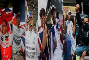 Lewis Hamilton 7 campeonatos en F1
