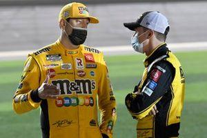 Kyle Busch, Joe Gibbs Racing, Toyota Camry M&M's, Christopher Bell, Joe Gibbs Racing, Toyota Camry DEWALT