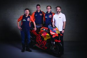Mike Leitner, Kurt Trieb, Wolfgang Felber, Jens Hainbach, KTM Factory Racing