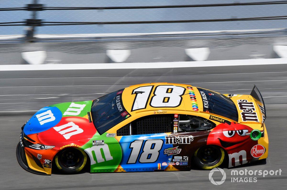 10. Kyle Busch, Joe Gibbs Racing, Toyota Camry
