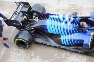 Williams FW43B top view