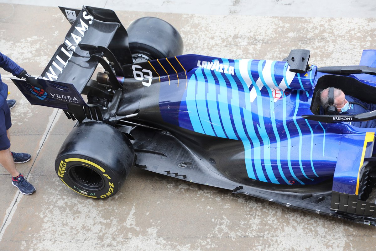 Задняя часть Williams FW43B