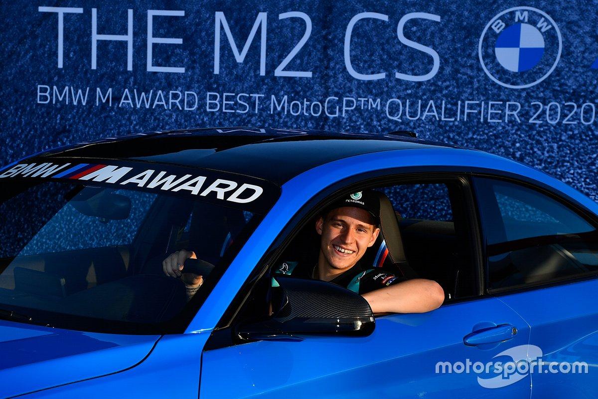 Fabio Quartararo, Petronas Yamaha SRT gana el BMW M