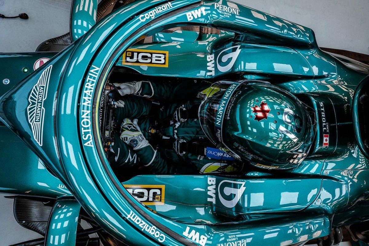 Lance Stroll, Aston Martin Racing AMR21