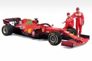 Шарль Леклер и Карлос Сайнс, Ferrari