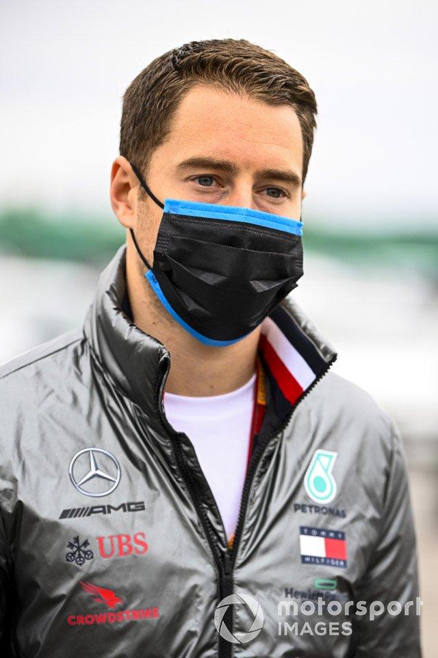 Stoffel Vandoorne, piloto reserva de Mercedes-AMG F1