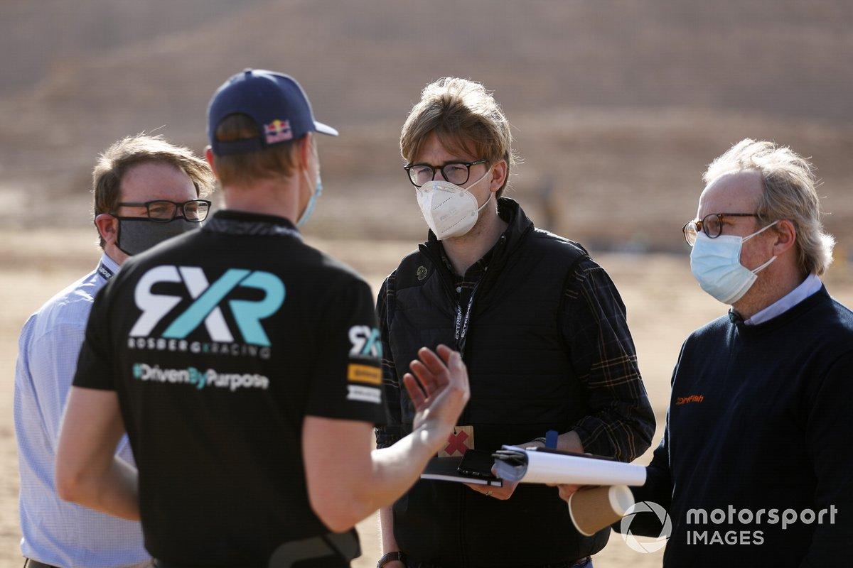 Personal de Rosberg X Racing