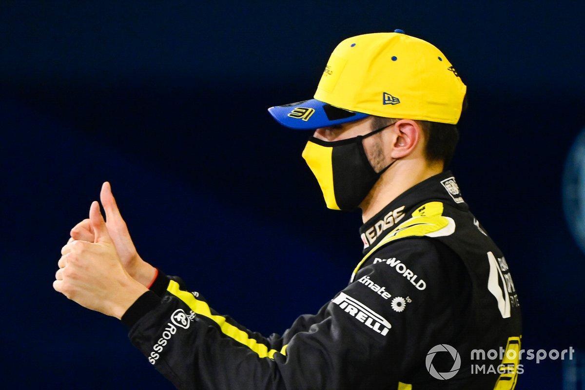 Esteban Ocon, Renault F1: 9 puan