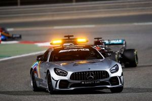 The Safety Car George Russell, Mercedes F1 W11
