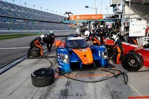 #74 Riley Motorsports Ligier JS P320, LMP3: Pit Stop, Oliver Askew, Spencer Pigot, Scott Andrews, Gar Robinson