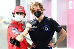 Francesco Bagnaia, Ducati Team, Luca Marini, Esponsorama Racing