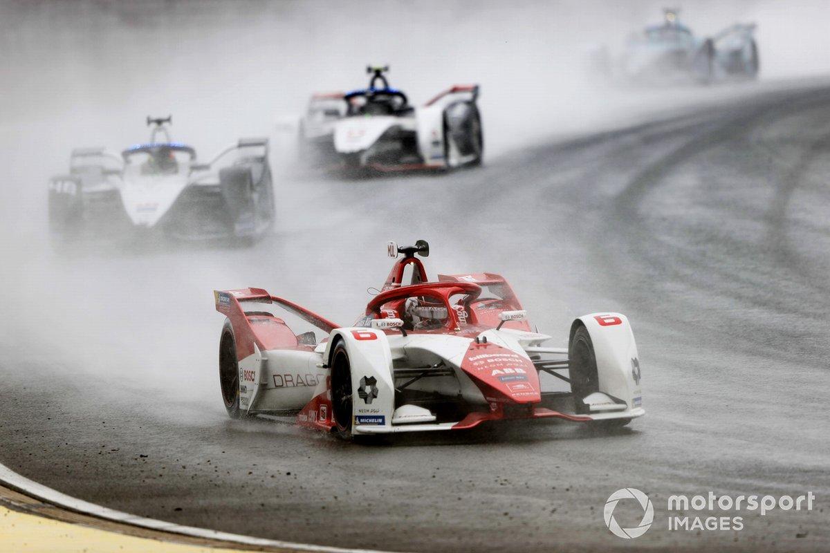 Nico Muller, Dragon Penske Autosport, Penske EV-5, Edoardo Mortara, Venturi Racing, Silver Arrow 02