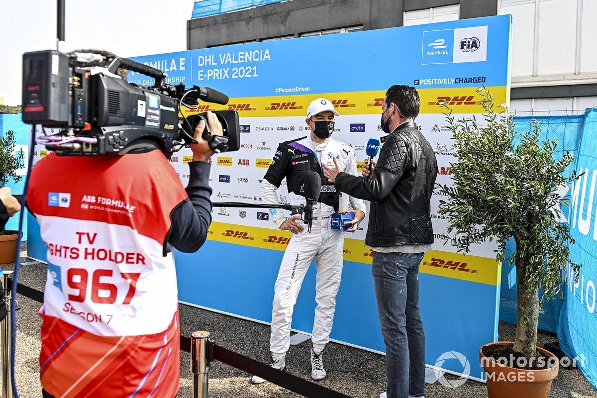 El poleman, Jake Dennis, BMW i Andretti Motorsport