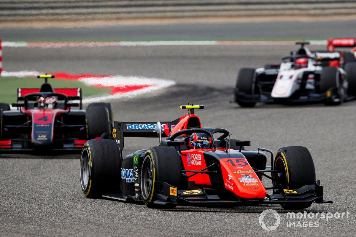 Felipe Drugovich, MP Motorsport y Callum Ilott, UNI-Virtuosi