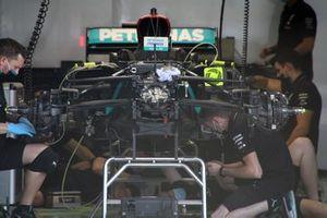 Vista frontal del DAS del Mercedes F1 W11