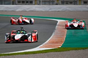 Lucas Di Grassi, Audi Sport ABT Schaeffler, Audi e-tron FE07 Alex Lynn, Mahindra Racing, M7Electro, Alexander Sims, Mahindra Racing, M7 Electro