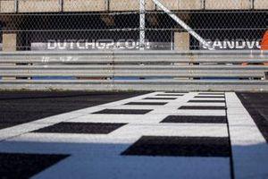 Meta en el circuito de Zandvoort