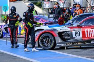 #89 AKKA ASP Mercedes-AMG GT3: Alex Fontana, Lucas Legeret, Benjamin Hites