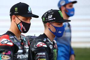 Fabio Quartararo, Petronas Yamaha SRT, Maverick Vinales, Yamaha Factory Racing