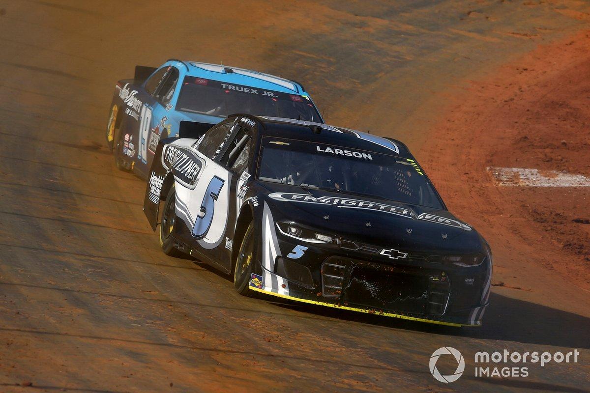 Kyle Larson, Hendrick Motorsports, Chevrolet Camaro Busch Light