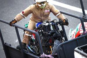 Alex Marquez, Team LCR Honda crashed Honda