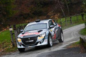 Nicola Cazzaro, Giovanni Brunaporto, Scuderia Palladio, Peugeot 208 Rally4