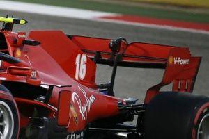 Charles Leclerc, Ferrari SF1000 rear wing detail