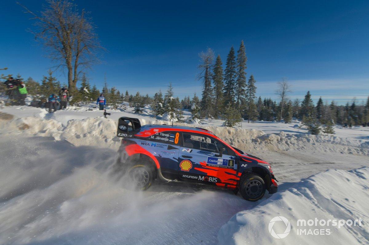 15. Rally del Ártico 2021: 121,66 km/h