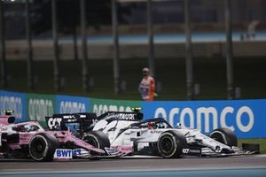 Pierre Gasly, AlphaTauri AT01, Lance Stroll, Racing Point RP20
