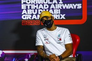 Lewis Hamilton, Mercedes-AMG F1, 3rd position, in the Press Conference