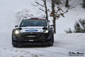 Gus Greensmith, Elliott Edmondson, Ford Fiesta WRC
