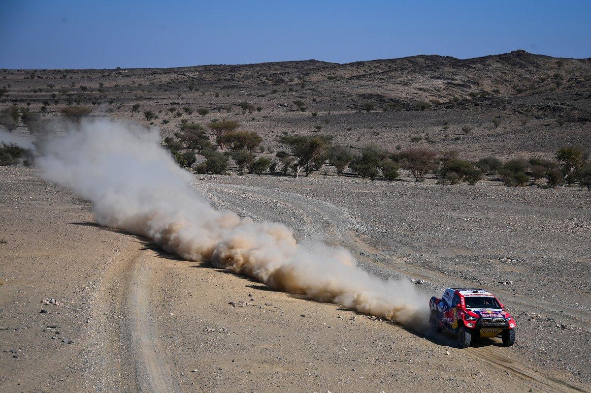#301 Toyota Gazoo Racing: Nasser Al-Attiyah, Matthieu Baumel