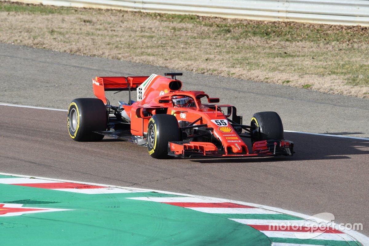 Carlos Sainz Jr, Ferrari SF71H