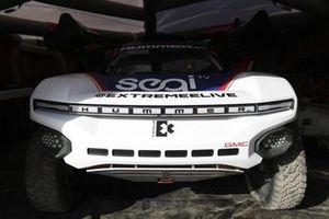 La voiture de Segi TV Chip Ganassi Racing