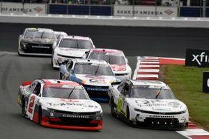 Myatt Snider, Richard Childress Racing, Chevrolet Camaro TaxSlayer and Sam Mayer, JR Motorsports, Chevrolet Camaro QPS Employment Group
