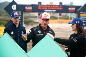 Timmy Hansen, Andretti United Extreme E Carlos Sainz, Sainz XE Team Sara Price, Chip Ganassi Racing