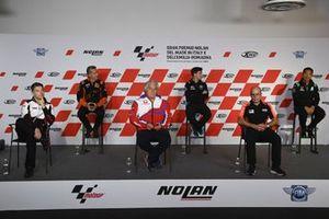 Hervé Poncharal, KTM Tech3, Lucio Cecchinello, Team LCR Honda Team Principal, Razlan Razali, Carlo Merlini, Paolo Campinoti, Pablo Nieto