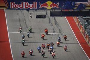 Start zum GP Amerika 2021 auf dem Circuit of The Americas in Austin